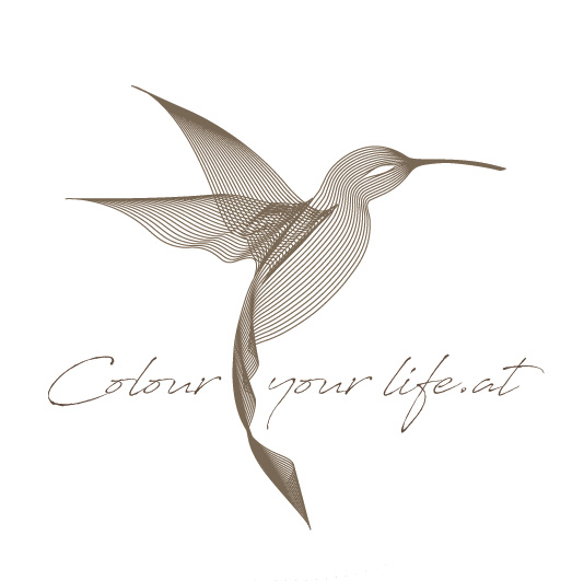 Colour your life.at Logo